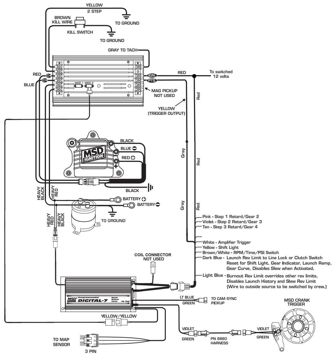 Msd Ignition Wiring Diagrams 7531 Wiring Diagram Cycle Zone Cycle Zone Hoteloctavia It