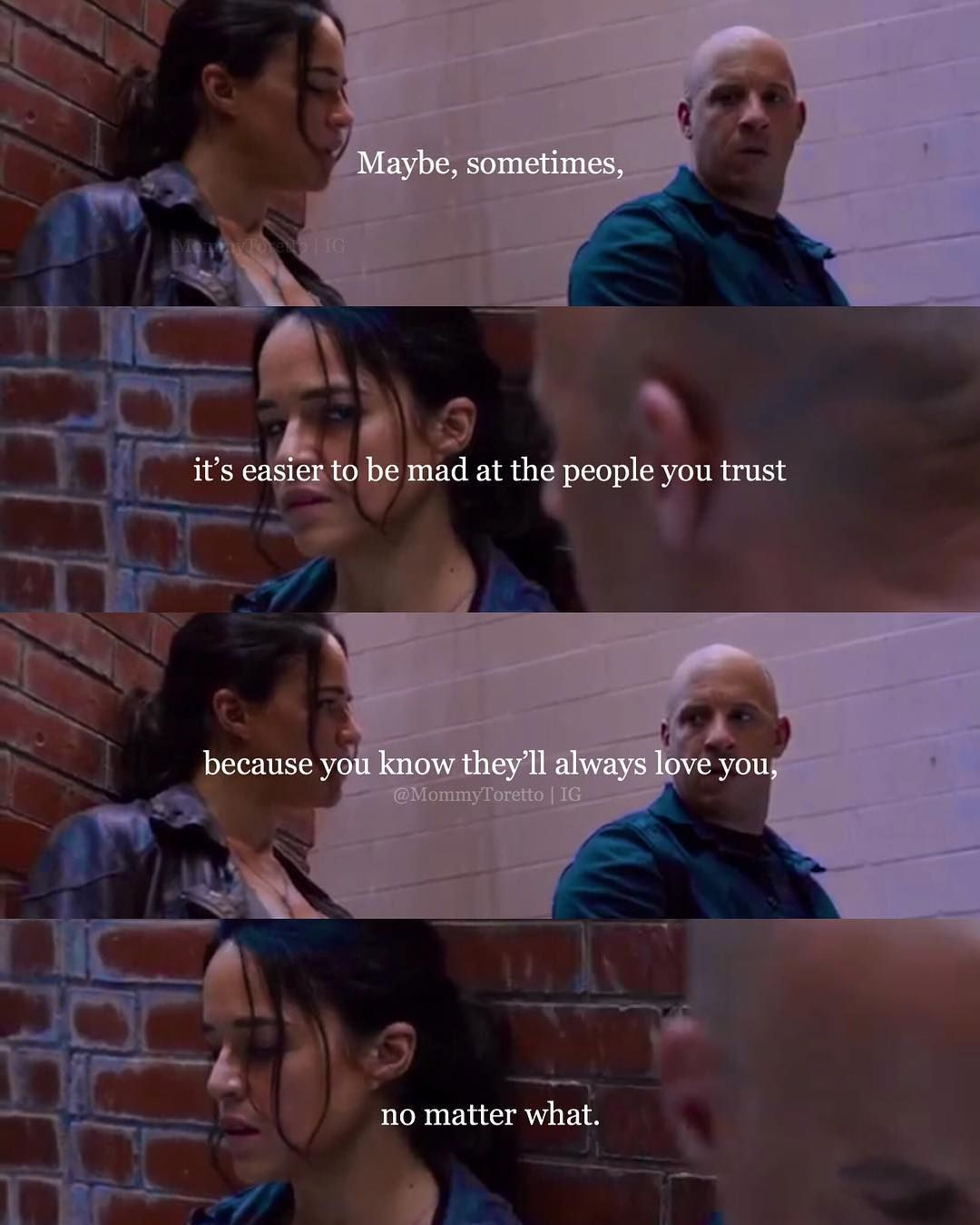 Mommy Toretto Art Mommytoretto No Matter What Pro Yooying Fast And Furious Fast And Furious Cast Fast Furious Quotes