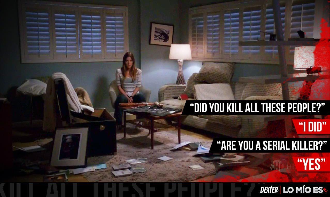 Dexter comenzó con fuerza su séptima temporada.    - ¿Mataste a toda esta gente?  - Lo hice  - ¿Eres un asesino serial?  - SI