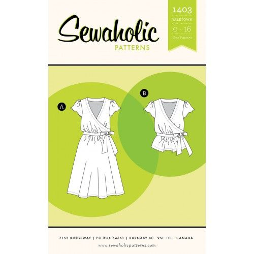 Schnittmuster: 1403 Yaletown Dress & Blouse | Sewing | Pinterest ...