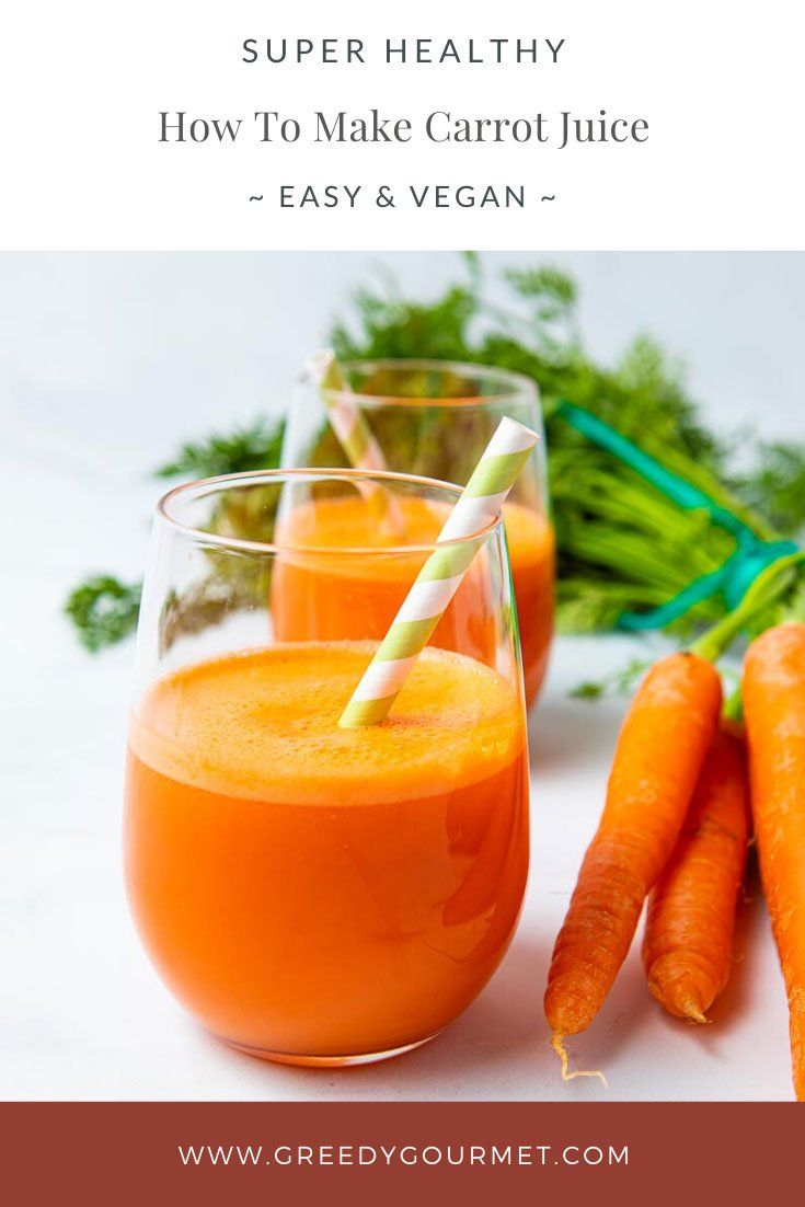 How to make carrot juice recipe in 2020 carrot juice