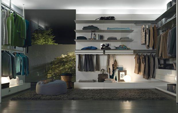Cabina Armadio Quarto Inferiore : La cabina armadio progetti a seconda della tua camera c da