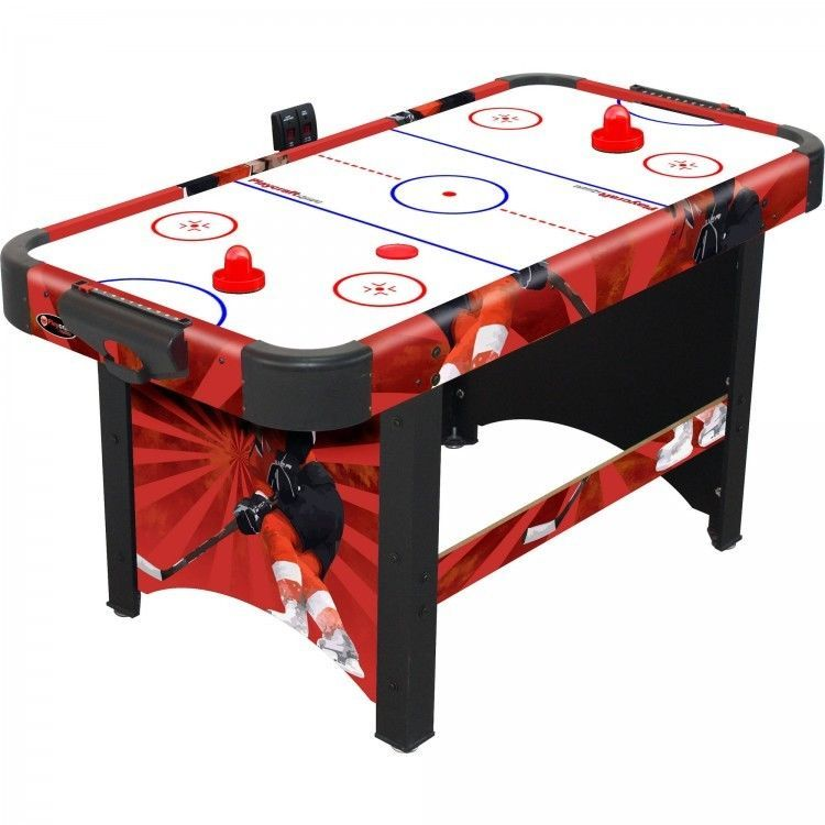 Game Room Air Hockey Table High Velocity Fan Electronic And Manual Scorer Option Air Hockey Air Hockey Table Game Room Tables