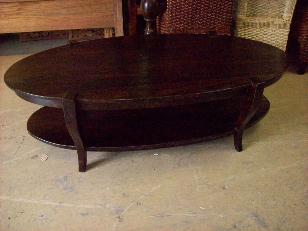 Pc5016 414 Lucia Oval Coffee Table Coffee Table Oval Coffee