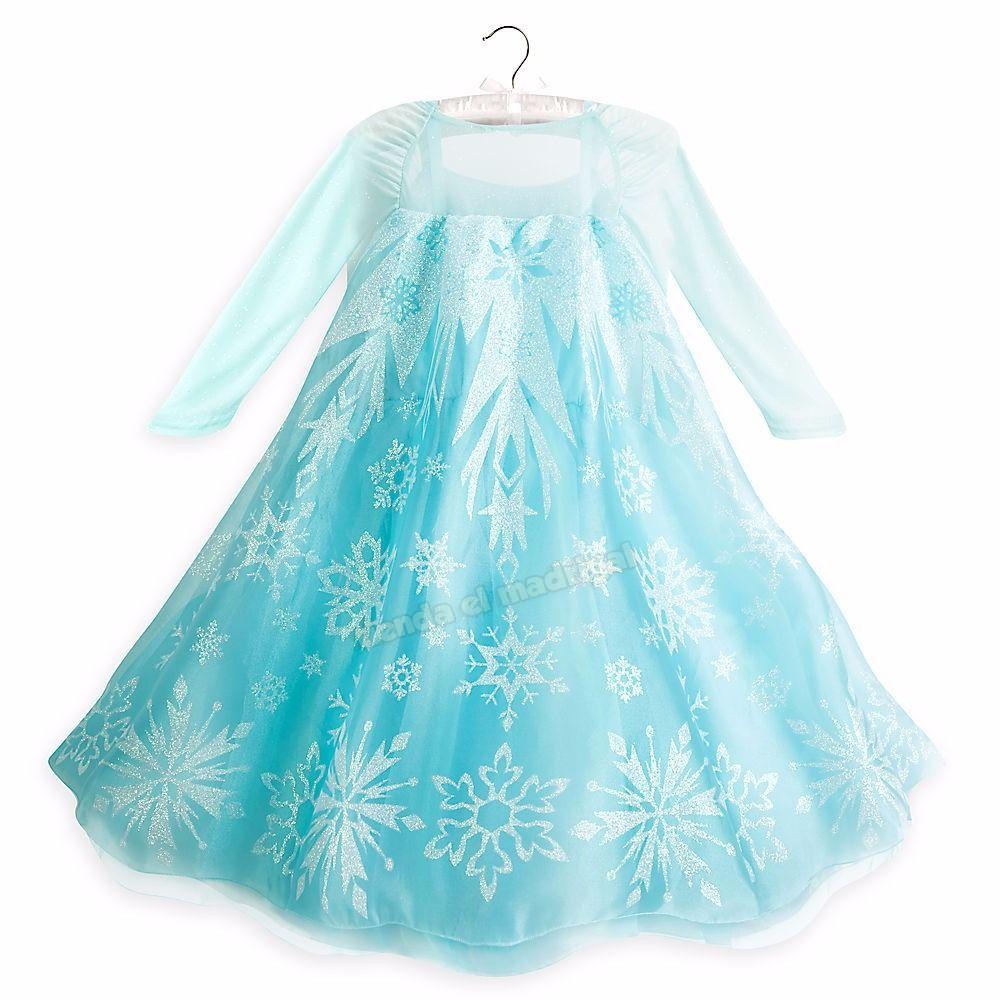 0e8ce8b837 vestido disfraz elsa frozen original disney store eeuu