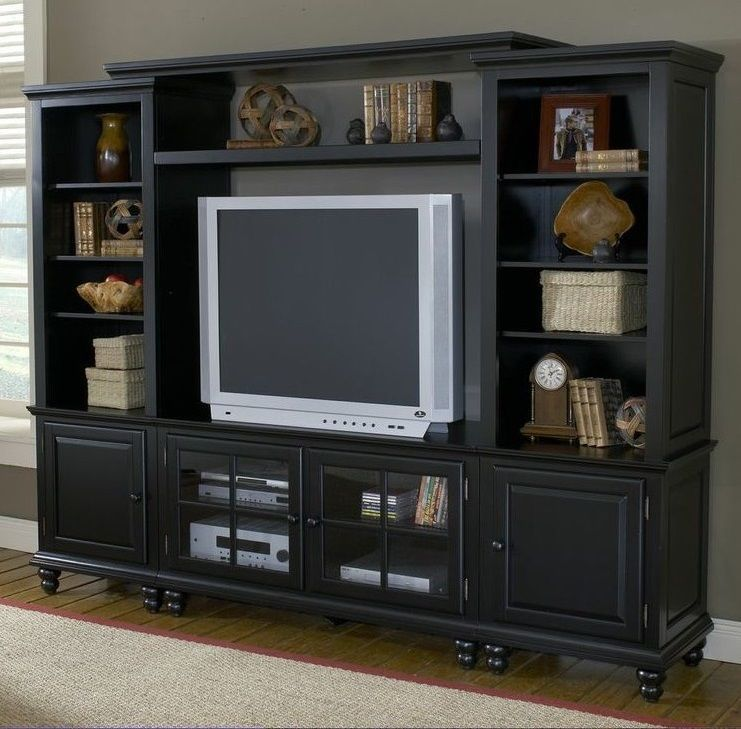 TV Stand Entertainment Center Wall Unit Living Room Furniture Cabinet Storage