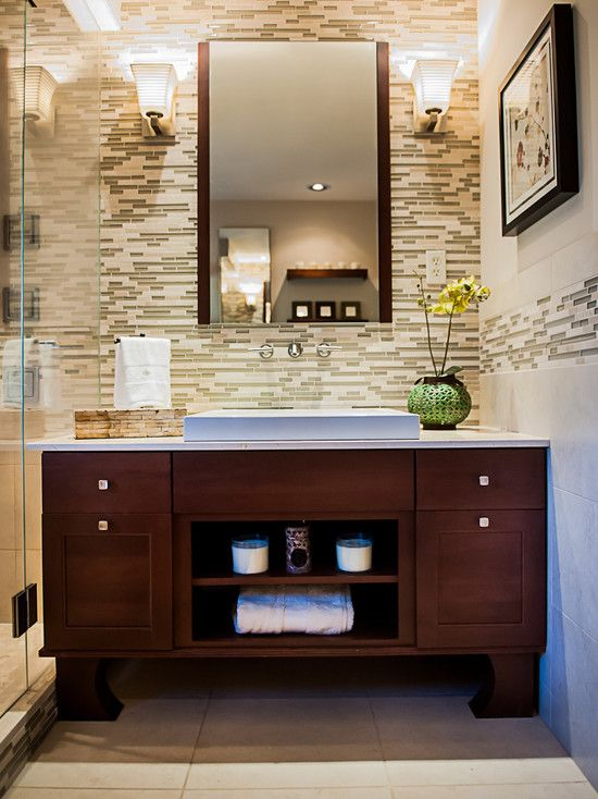 Asian Inspired Bath Renovation | Union Studio | Pinterest | Bath .
