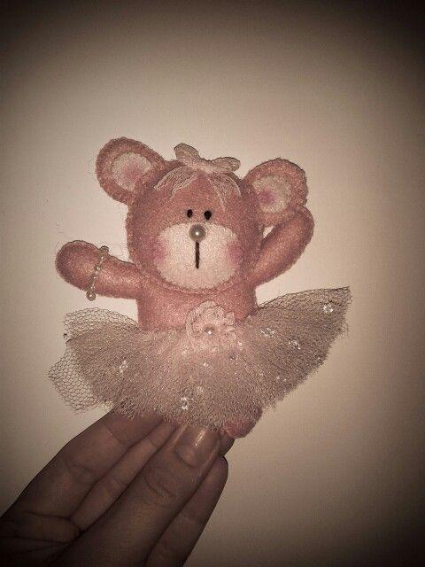 ursinha bailarina :) um docinho