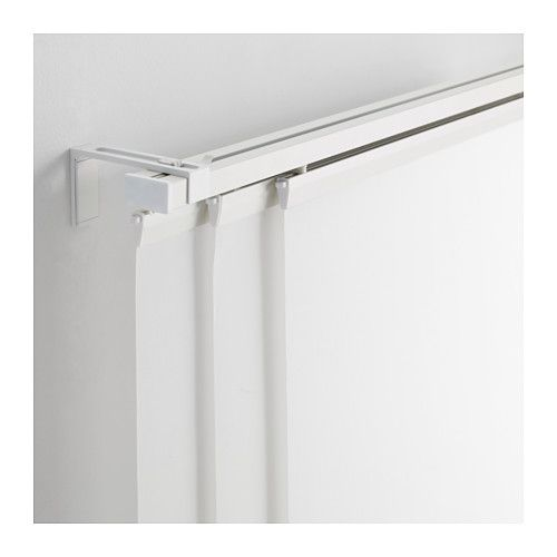 Vidga Triple Curtain Rail White 55 Curtain Rails Ikea