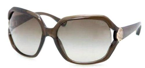 fdc6051e74 Coach HC8020 5030  8E L017 Marilyn Dark Olive Plastic Sunglasses With  Silver Logo Detail