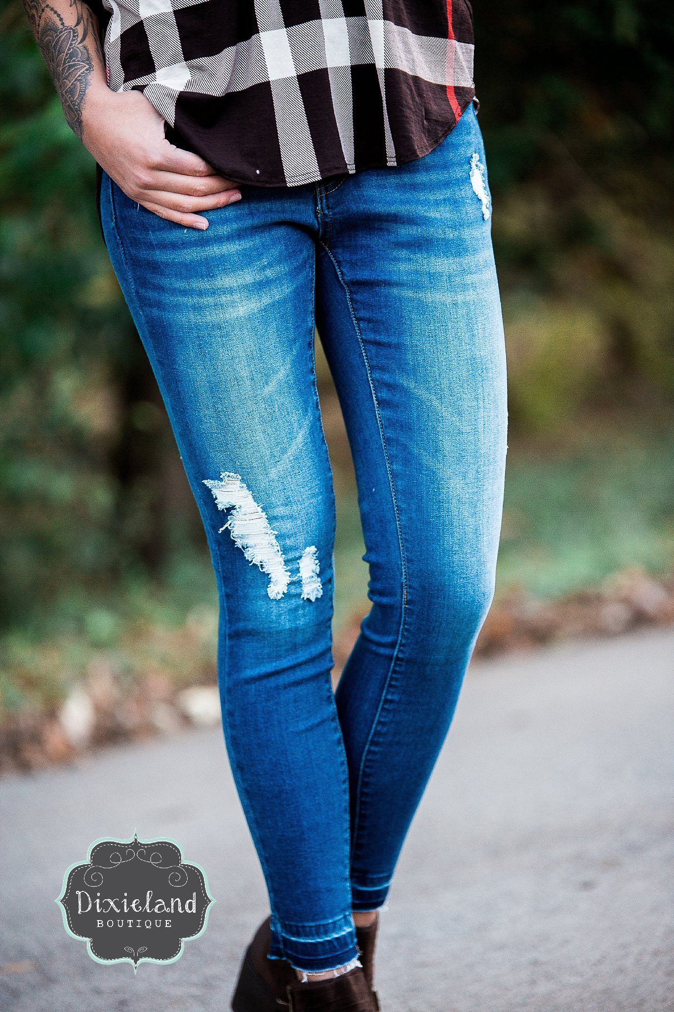 The Mara Distressed Jeans