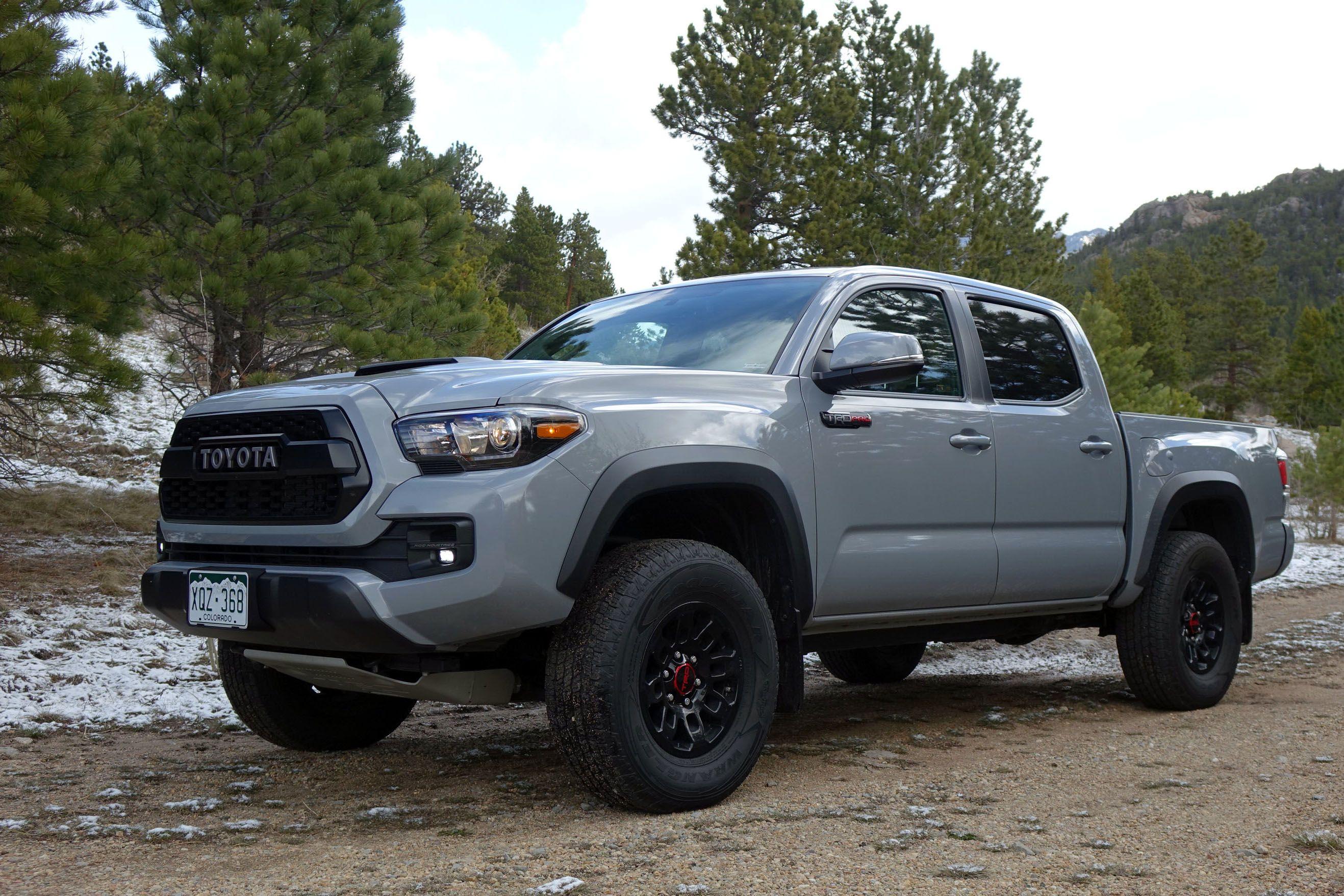 2020 Toyota Tacoma Diesel Trd Pro Spesification