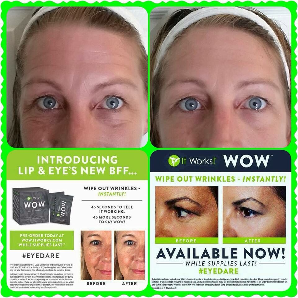 Wipe out wrinkles with wow! 931-449-9032 ambertribble.com