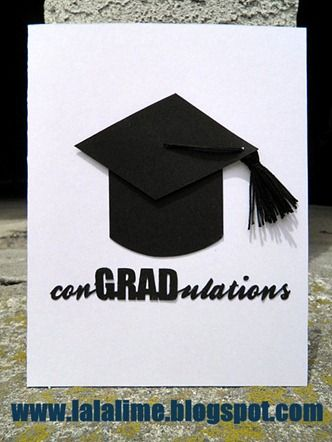 How to make your own tassel for grad caps for cards, plus a free