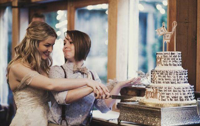 Cute Lesbian Couple 3 Cute Lesbian Couples Wedding Couples