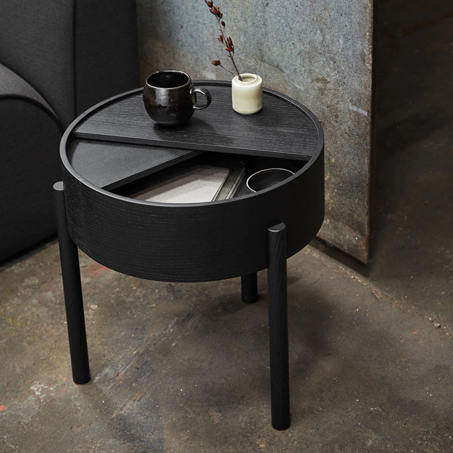 Arc Side Table In 2021 Side Table Coffee Table Black Side Table [ 900 x 900 Pixel ]