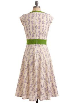 An Enchanted Evening Dress in Lavender, #ModCloth