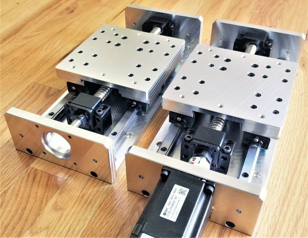 Details about DIY CNC X Y Z Axis Linear Stage Slide Kit 6