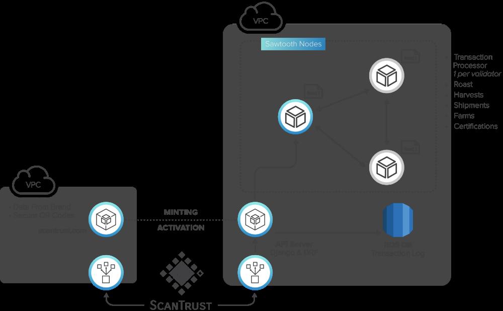 Hyperledger Casestudy Scantrust Graphics Diagram