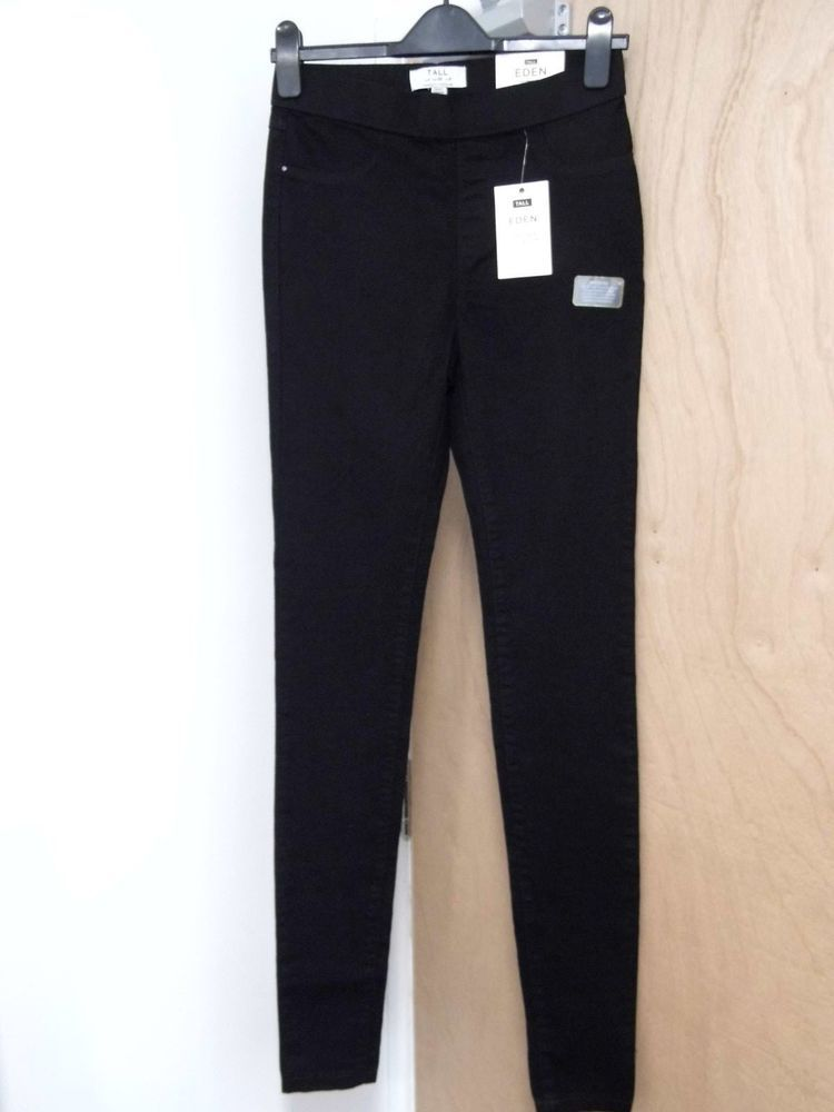0c8a75c1739d91 DOROTHY PERKINS TALL 'Eden' Super Soft Jeggings Size 10 Black (New)  #fashion #clothing #shoes #accessories #womensclothing #jeans (ebay link)