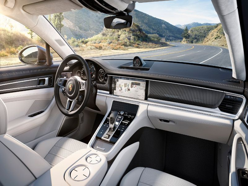 10 Best Luxury Car Interiors Autobytel Com Porsche Panamera Porsche Panamera Turbo Best Luxury Cars