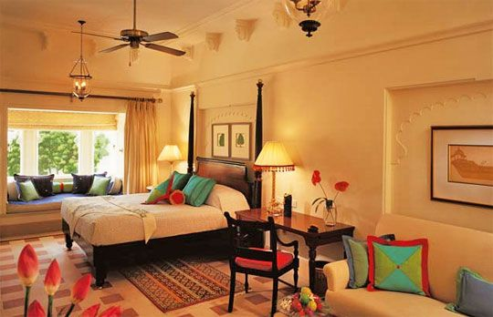 Bedroom desgined in traditional Indian style. | Indian ...