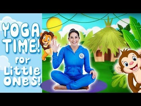 Yoga Time! Jungle Safari: Kids Yoga and Nursery Rhymes | Cosmic Kids