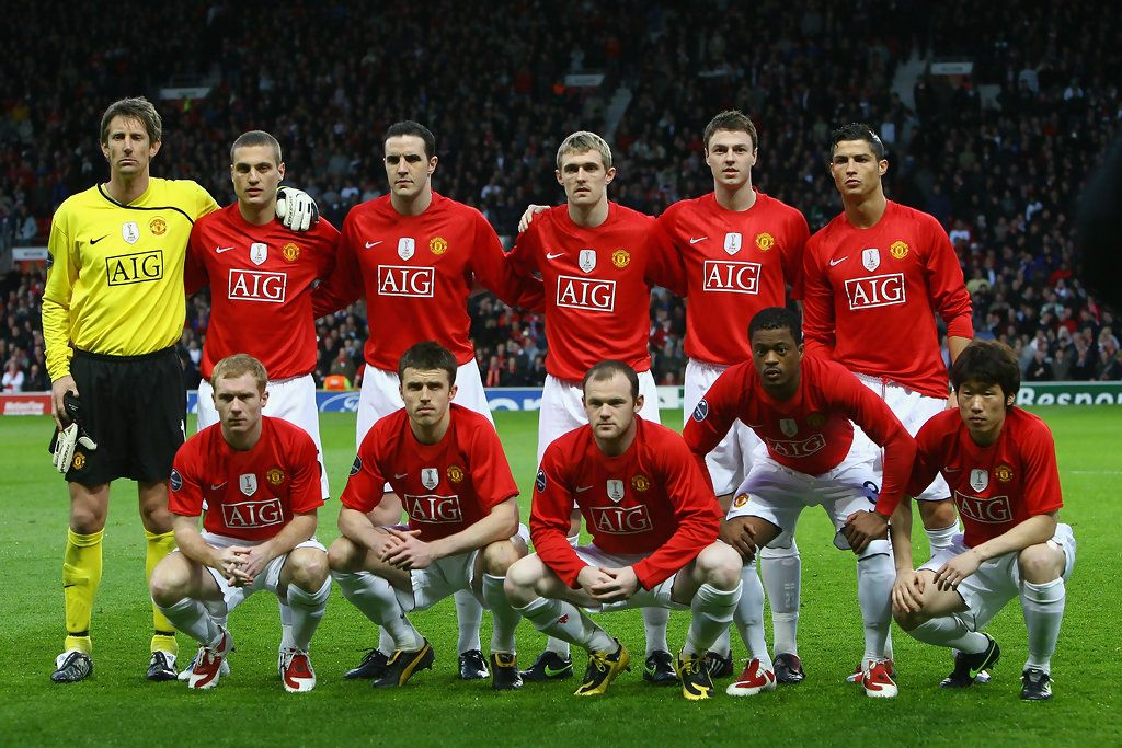 Man Utd 2009 Futbol Fotografia Club