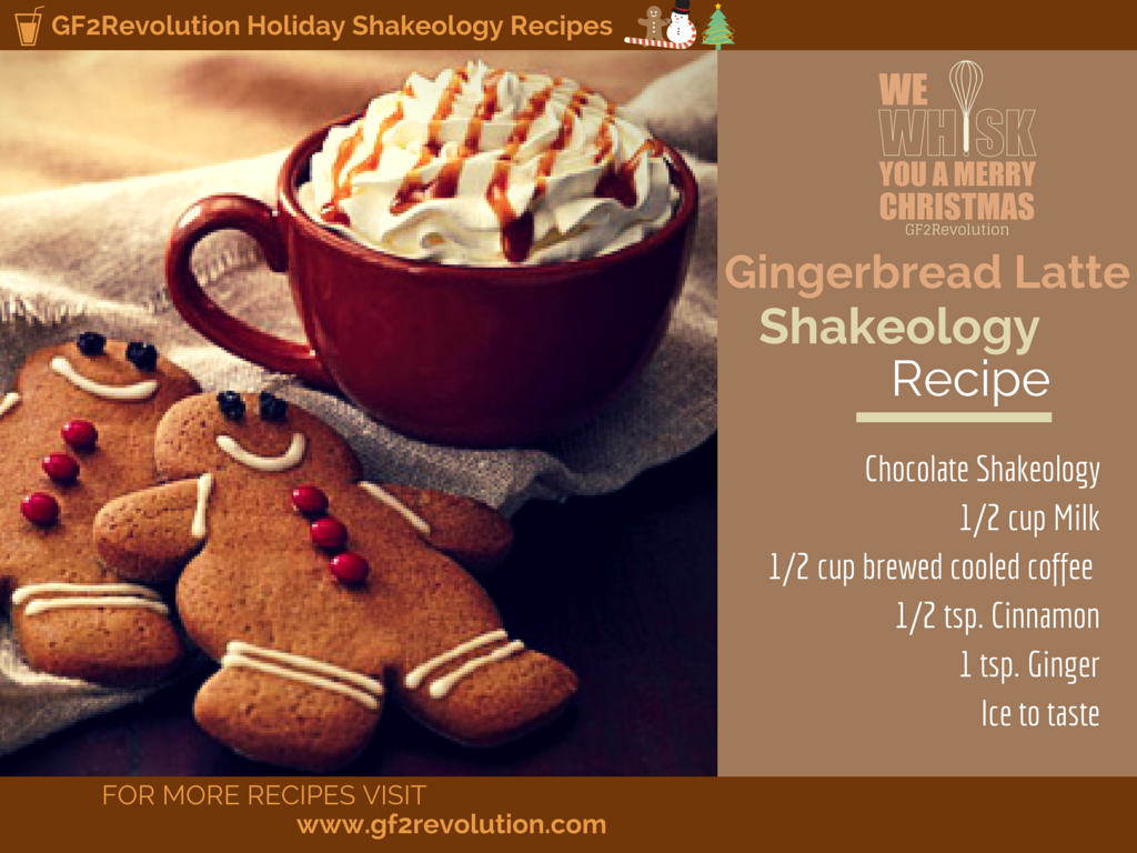 HolidayShakeology Recipe. This one is a take on the gingerbread ...