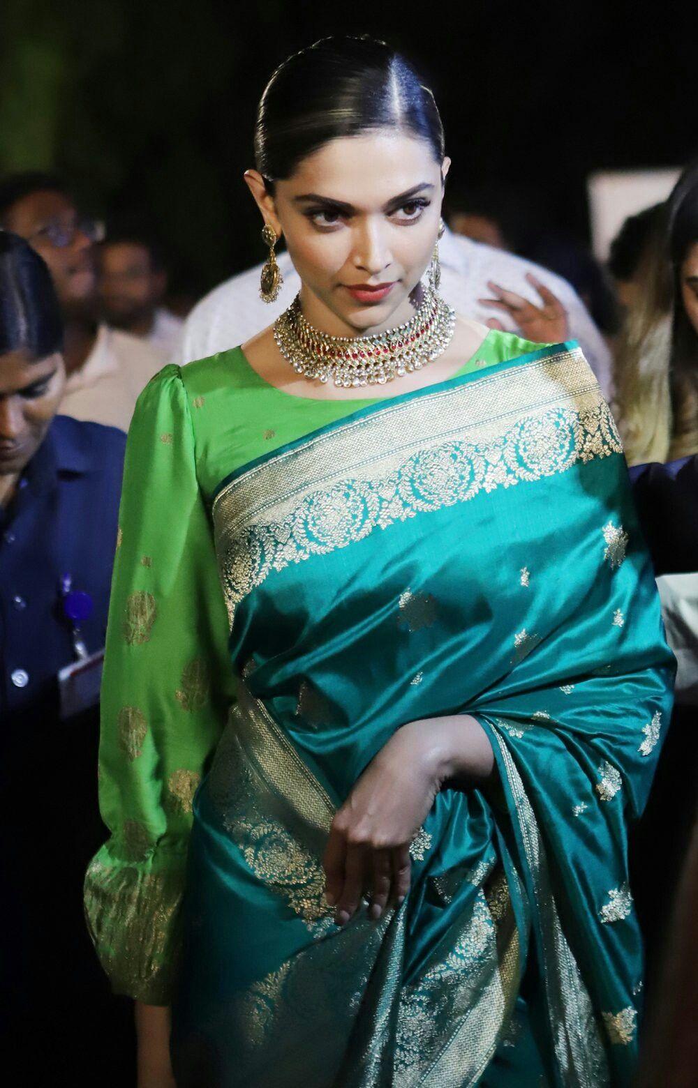 Pin by siddhesha yadav on Deepika Padukone | Indian sari ...
