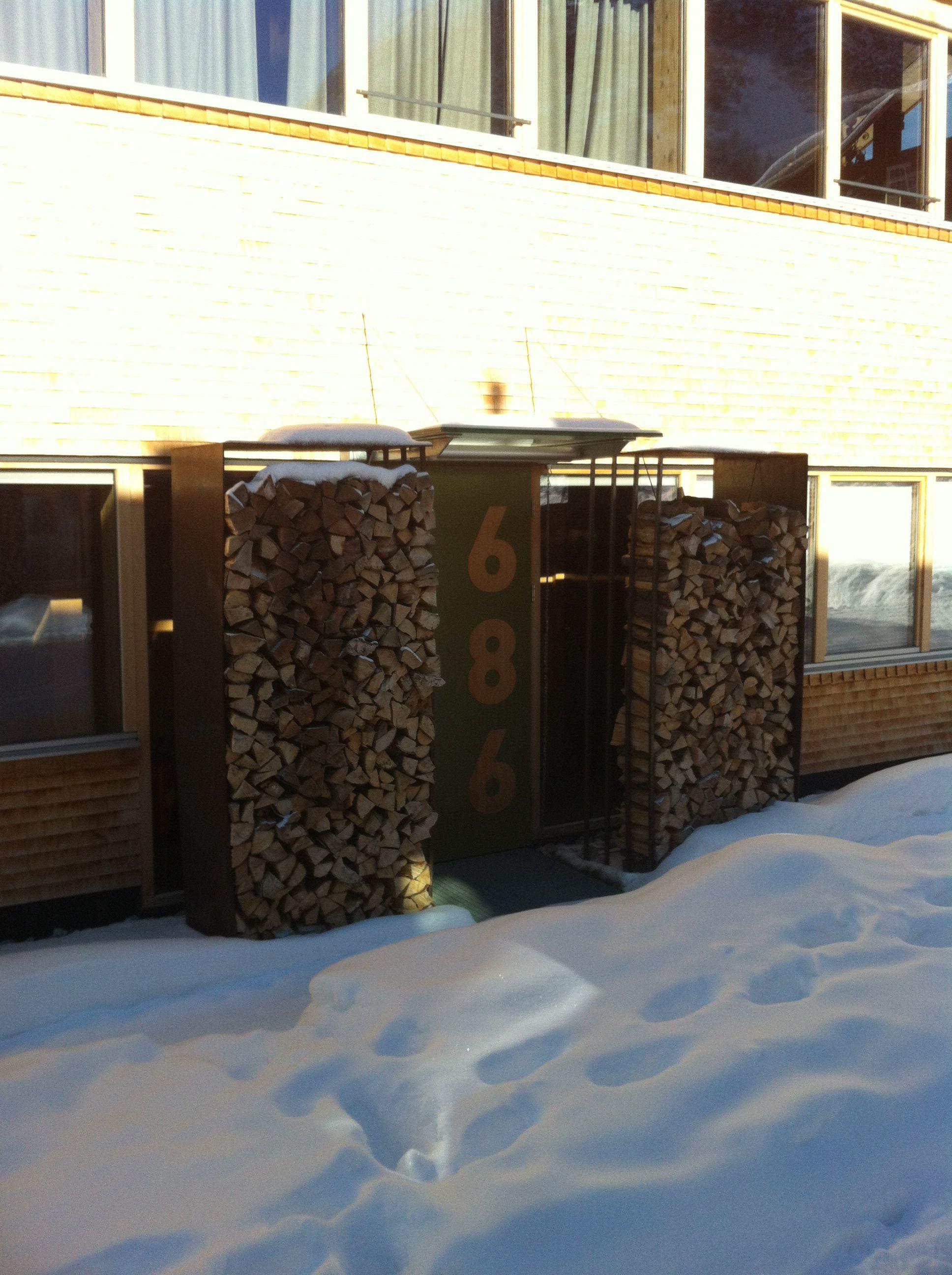 Holzlagerung Alternativ