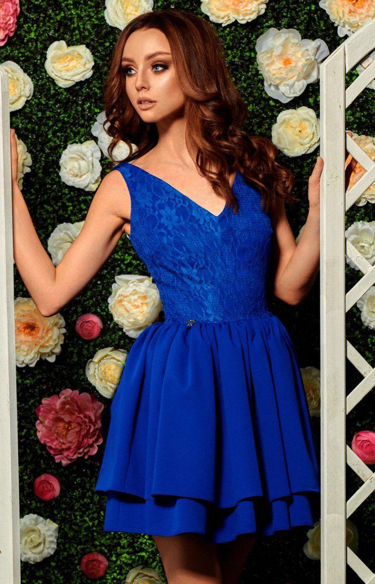 9ee4e1025e Lemoniade L260 sukienka chabrowa Przepiękna wieczorowa sukienka
