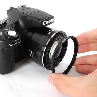 58MM Lens Adapter Ring Mount for Canon Powershot SX50 SX60