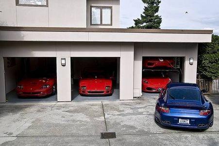 El garaje.
