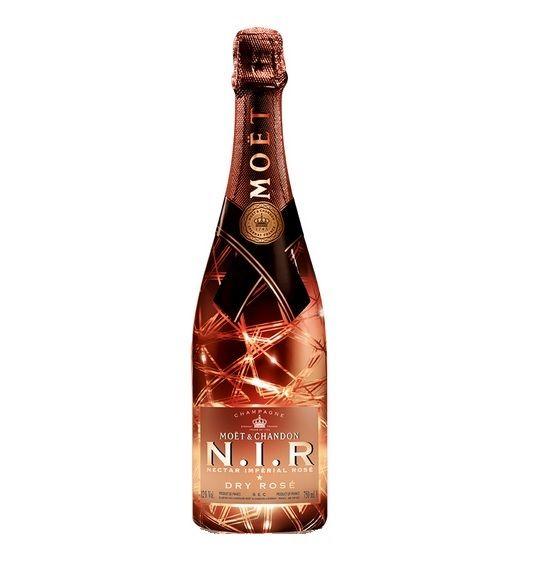 Moet & Chandon NIR Dry Rose champagne  #moetchandon #nir #dry #rose #champagne