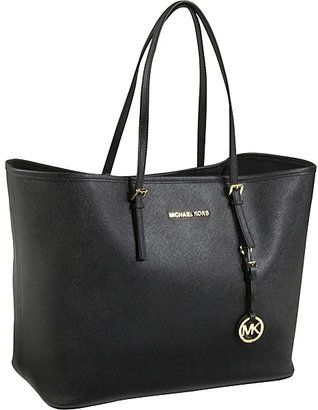 ae7dd52c5a0c ShopStyle: MICHAEL Michael Kors Jet Set Travel Med Travel Tote - Saffiano