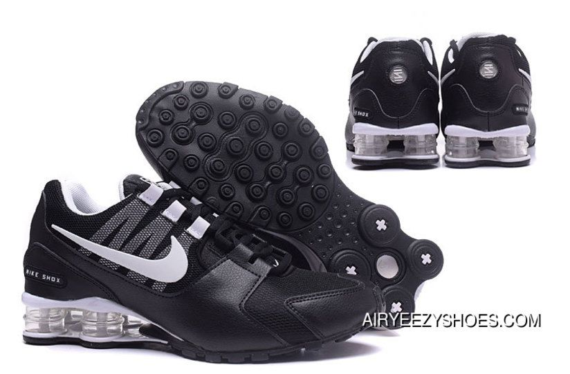 Mens Nike Shox Avenue 802 Shoes All Black New Release