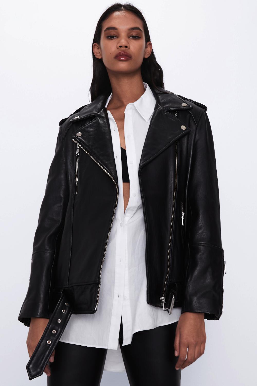 Oversized Leather Jacket Trf Zara International Leather Jacket Zara Leather Jacket Jackets [ 1500 x 1000 Pixel ]