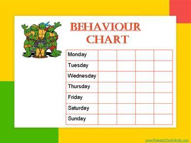 behaviour charts reward charts 4 kids children charts