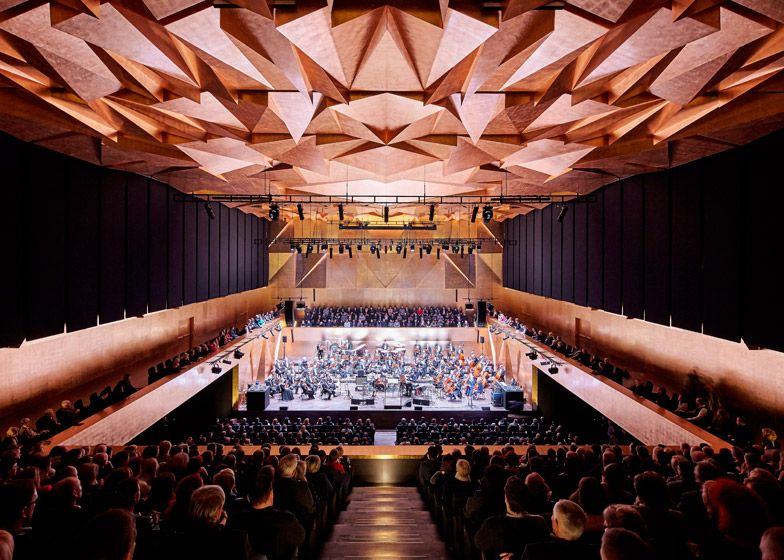 Sala Filarmónica de Szczecin, Polonia - Barozzi Veiga - © Hufton + Crow