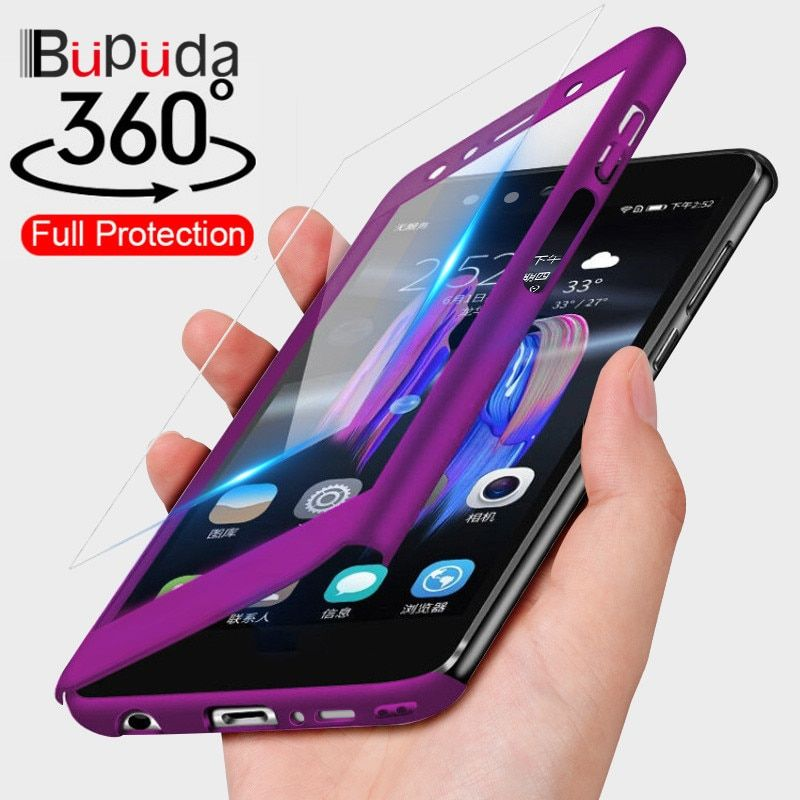 the best attitude 6bc90 ec92e 360 Full Protection Phone Case For Samsung Galaxy A7 A6 A8 J4 J6 J8 ...