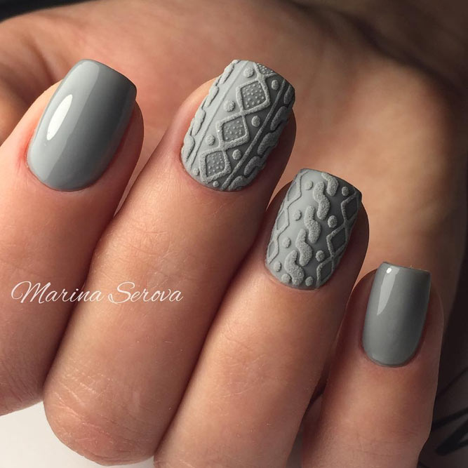 45+ Fall Nail Art Designs To Boost Mood | NailDesignsJourna.com