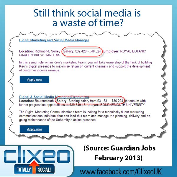 Amazing To Think That Social Media Manager Jobs DidnT Event Exist