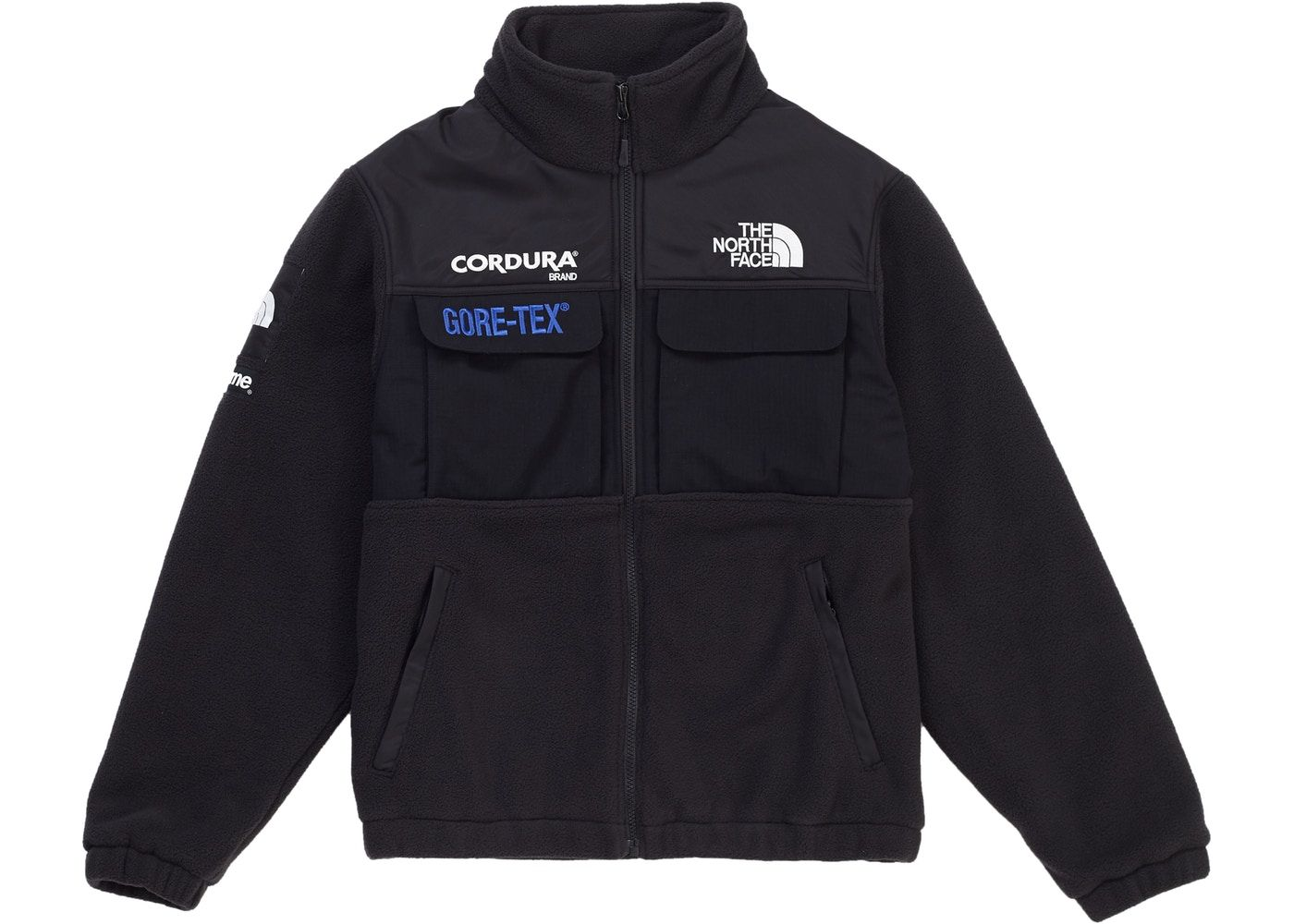 Supreme The North Face Expedition Fleece Fw18 Jacket Black The North Face Supreme Clothing Fleece [ 1000 x 1400 Pixel ]