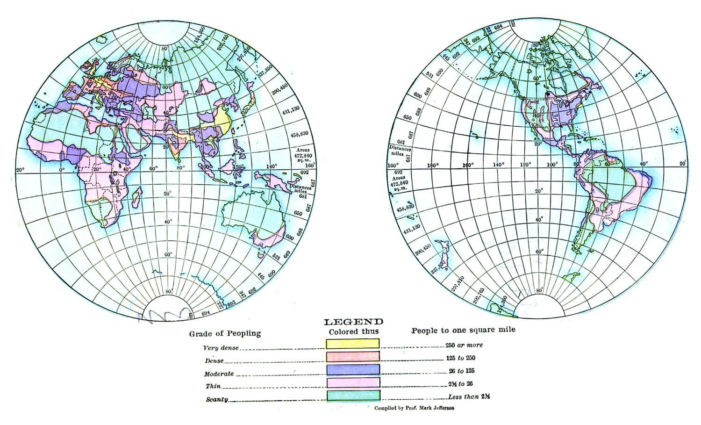 Population Isolines
