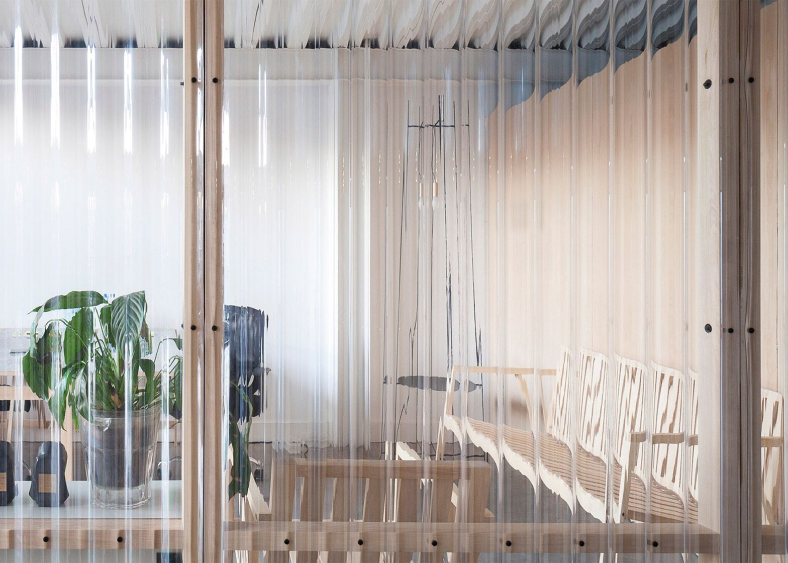 Http Www Dezeen Com 2015 11 03 It Met Argentina Modular Panels Flexible Workspace Buenos Aires Ad Agency Cir Work Space Corrugated Roofing Corrugated Plastic