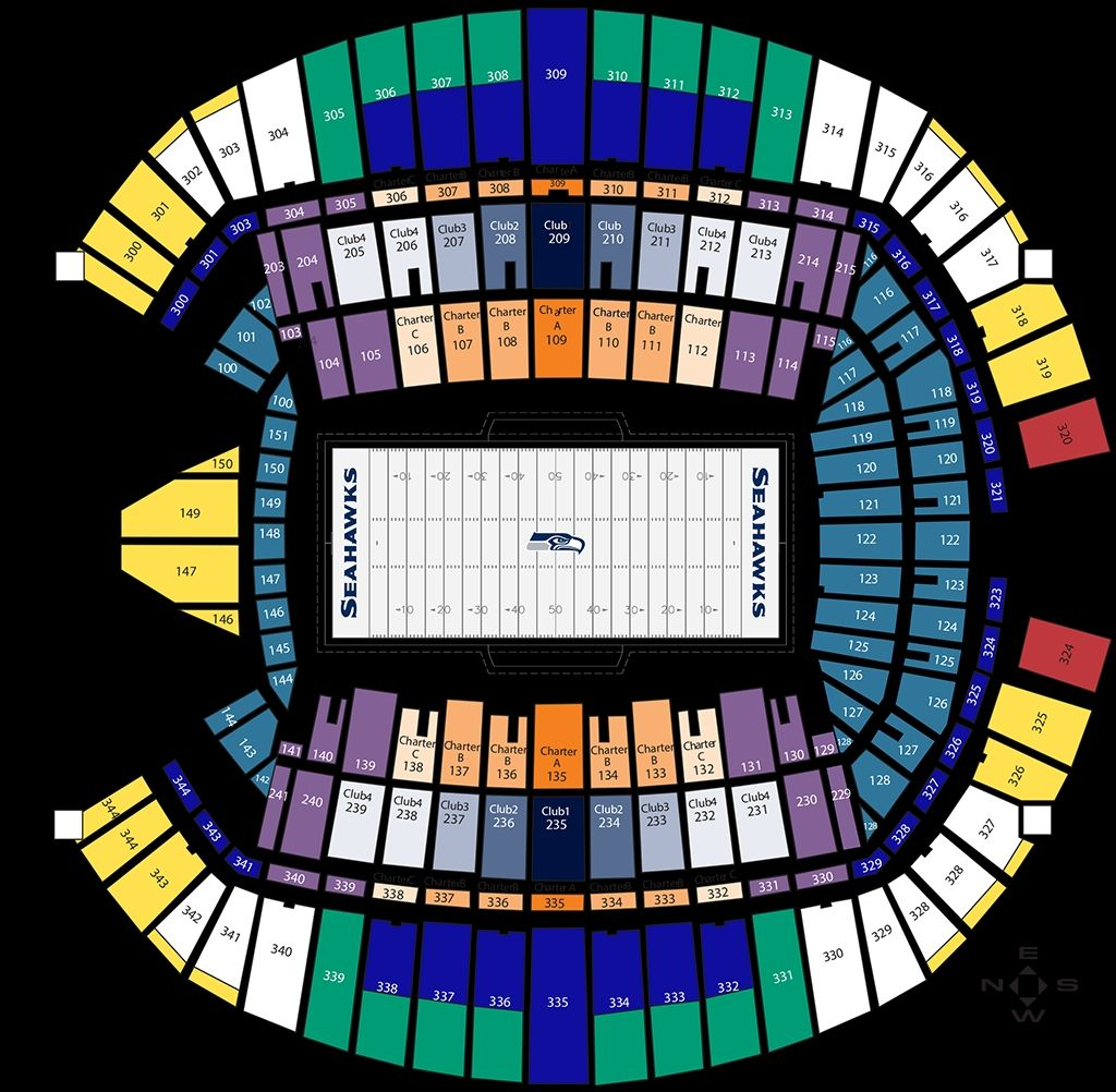 Amazing Along With Lovely Seahawks Seating Chart With Rows