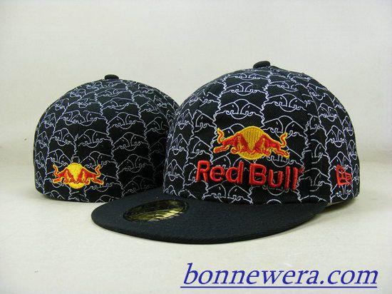 Acheter Pas Cher Casquettes Red Bull Fitted 0004 En ligne - BONNEWERA.COM  Gorra Red 8e969663a30