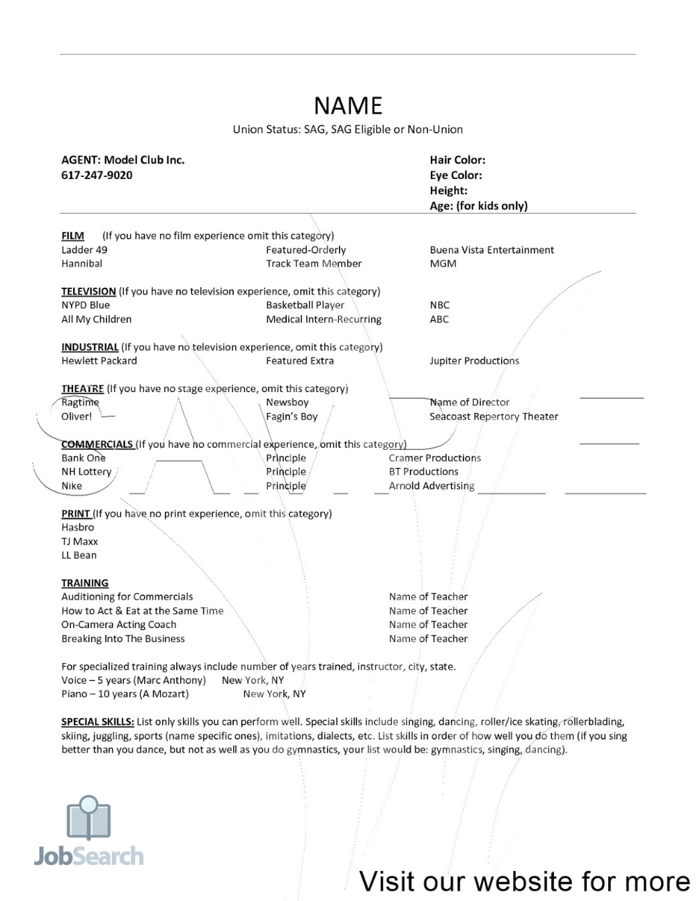 Resume Sample Format In Word For Student 2020 Simple Design Template Example Film And Television Studie Personal Statement