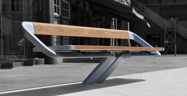 designs innovants de mobilier urbain   design - Meuble En Acier Design